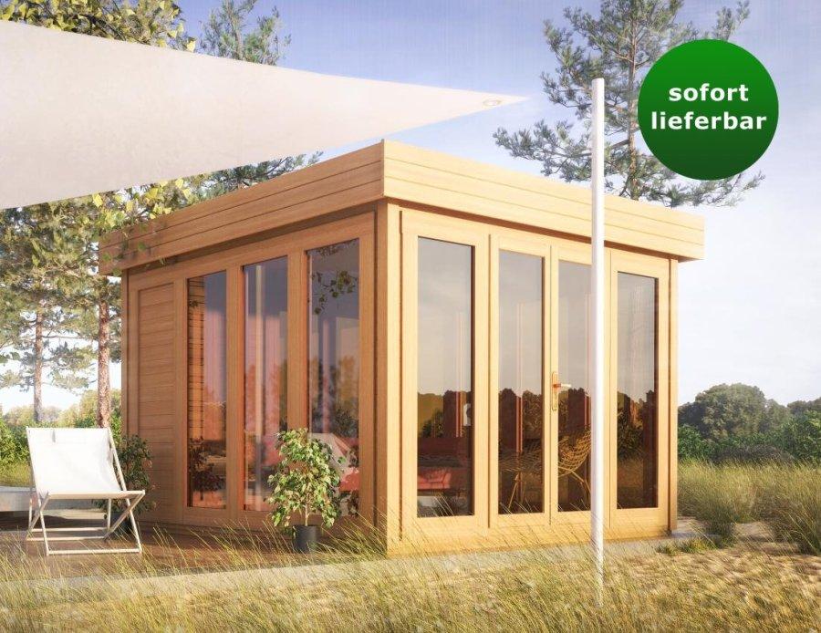 Flachdach Gartenhaus